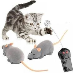 Allytechtm Funny Remote Control RC Wireless Rat Mouse Toy for Cat Dog Pet Gift for sale online Mice Control, Control 4, Radio Control, Interactive Cat Toys, Puppy Gifts, Cat Mouse, Mice Mouse, Catnip Toys, Cat Dog