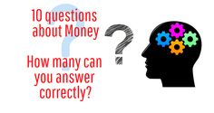 10 fun questions about money - How many can you answer correctly? Good To Know, Money, Canning, This Or That Questions, Fun, Poster, Silver, Home Canning, Billboard