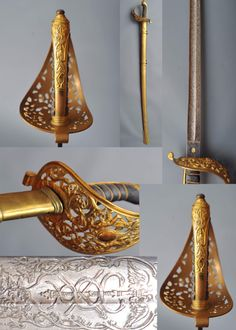 Victorian era presentation sword