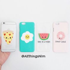 "42.9k Likes, 295 Comments - Nim C (@allthingsnim) on Instagram: ""DIY PHONE CASES tutorial is up on YouTube (link in bio). Which one is your FAVE?! """