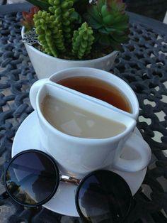 coffee, tea, and sunglasses resmi