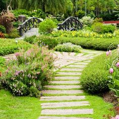 Beautiful Garden Pathways