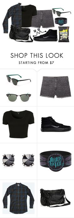 """""""You said this is suicide, I said this is a war when I'm losing the battle man down"""" by rocketsheep ❤ liked on Polyvore featuring Ray-Ban, Vans, Topshop, Juicy Couture, Hot Topic, Aéropostale, vans, lyrics, dropdead and piercetheveil"""