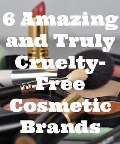 6 Amazing Cruelty Free Cosmetic Brands #crueltyfree