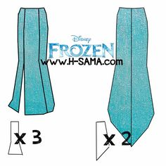 elsa dress pattern | COMO FAZER? Cosplay de Elsa Snow Queen- Frozen