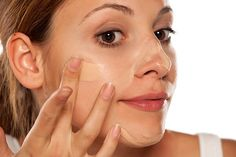 Foundation and Concealer Application