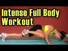Full Body Workout: High Intensity Fat Burn Cardio Training.