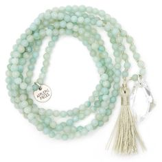 Blissful crystal ketting amazonite from Applepiepieces