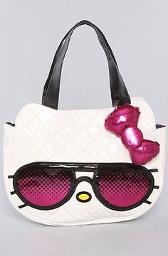 Loungefly The So Chill Hello Kitty Tote Bag. Thiiis one too! Haha