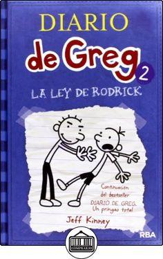 Diario de Greg 2 : la ley de Rodrick de Jeff Kinney ✿ Libros infantiles y juveniles - (De 6 a 9 años) ✿