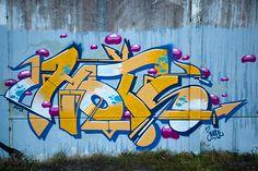 Graffiti Noordzeebrug Groningen (NL) November 2012 art kunst streetart Groningen Grunn NL Nederland Photo by: Jascha Hoste