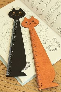 Photo2: Kawaii Centimeter Ruler - Little Cat