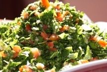 Who doesn't like tabbouleh?