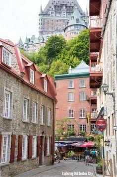 Exploring Old Quebec City