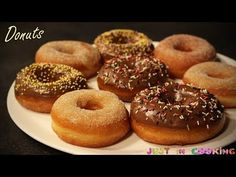 Recette donuts avec une machine à Donuts Beignets, Beignet Nutella, Sweet Recipes, Vegan Recipes, Vegan Junk Food, Vegan Sushi, Vegan Baby, Muffins, Vegan Pancakes