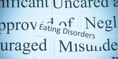 How to Recognize an Eating Disorder -