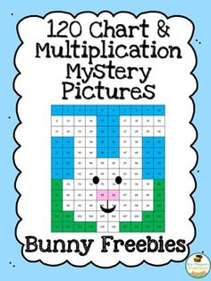Easter Math Spring isalmost here! These cute bunny mystery pictures are fun for your students and help them practice important math skills! This download includes two different activities - a 120 chart mystery picture and a multiplication mystery picture so it can be used for a variety of levels. What are you waiting for? Click HERE to get hopping! 120 charts Easter activities Lauren Thompson Mrs. Thompson's Treasures multiplication mystery picture
