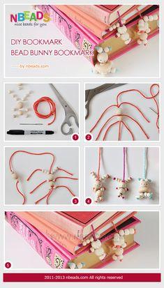 http://www.nbeads.com/article-diy-bookmark-bead-bunny-bookmark-567.html