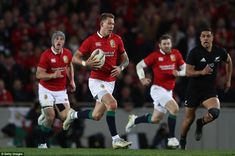 The move started in the Lions' own 22 when Liam Williams managed to wriggle free and break. Liam Williams, British And Irish Lions, New Zealand, Free