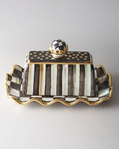I WANT THIS... MacKenzie-Childs Courtly Check Butterhouse - Neiman Marcus