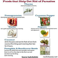 Parasites and remedies