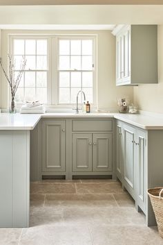 Interior Styling for Neptune by Sims Hilditch | MARLOE - INTERIOR DESIGN & STYLING | home, laundry, utility, stone floor, interior inspiration Home Decor Kitchen, Kitchen And Bath, Home Kitchens, Diy Kitchen, Cheap Kitchen, Kitchen Hacks, Kitchen Decorations, Shaker Kitchen, 10x10 Kitchen