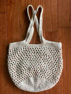 """New Cheap Bags. The location where building and construction meets style, beaded crochet is the act of using beads to decorate crocheted products. """"Crochet"""" is derived fro Bead Crochet, Crochet Baby, Cotton Crochet, Crochet Market Bag, Yarn Thread, Reusable Shopping Bags, Cheap Bags, Crochet Purses, Knitted Bags"""