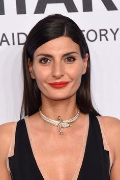 Giovanna Battaglia Long Straight Cut - Newest Looks - StyleBistro