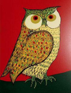 """""""Owl"""" par Aldemir Martins"""