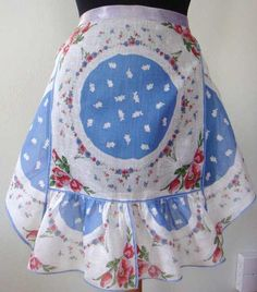 Vintage apron. Our grandmothers and great grandmother always had an apron on; we are lucky to have some of them.