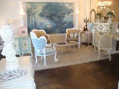 """Home Away From Home """"Montiques Studio"""" Home And Away, Vintage Decor, Studio, Furniture, Home Decor, Studios, Interior Design, Home Interior Design, Arredamento"""