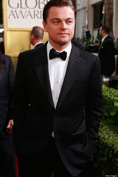 Leonardo DiCaprio 2013 Golden Globe Awards