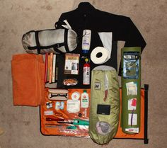 Canoeing and Kayaking Camping Gear.
