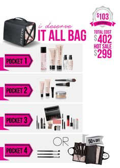 HOT DEAL: Valid All-Year! Contact me for more information.  www.marykay.com/arosser