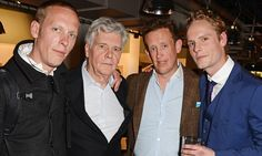 James, Laurence and Tom Fox turn out to support Jack in Dorian Gray http://dailym.ai/1mwpgsj