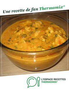 Sauté de porc au curry par Florence67. Une recette de fan à retrouver dans la catégorie Viandes sur www.espace-recettes.fr, de Thermomix<sup>®</sup>.