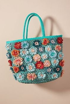 Aranáz Toco embroidered tote