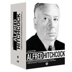 6 films d'Alfred Hitchcock : Le crime était presque parfait, La loi du silence, L'inconnu du Nord-express, Le faux coupable, La mort aux trousses, Le grand alibi. Cote : DVD FIC HIT