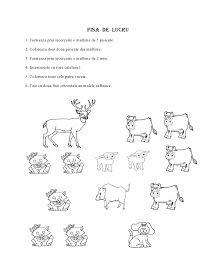 Fise de lucru - gradinita: IMAGINI de colorat cu animale DOMESTICE Forest Animals, Math, Words, David, Blog, Woodland Creatures, Math Resources, Blogging, Horse