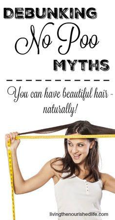 Top 5 No Poo Myths Debunked livingthenourishedlife.com