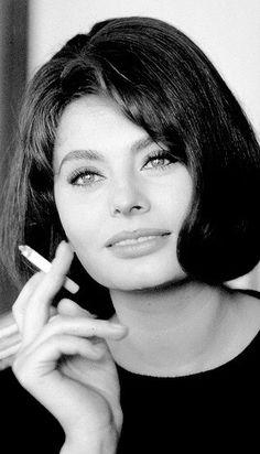 Sophia Loren, France 1962. Photo by Elliott Erwitt.