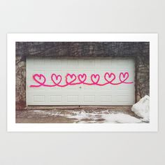 HEARTS+Art+Print+by+jessepowell+-+$15.00