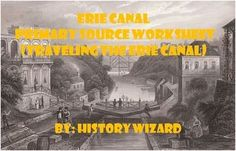 This worksheet allows students to use a primary source document to learn about the Erie Canal. I use this worksheet to help students understand the importance of the Erie Canal and how it changed the United States.This activity is very easy to use. All you have to do is print off the primary source from the following website for classroom use or direct students to the website to answer the worksheet questions:http://www.eyewitnesstohistory.com/eriecanal.htmClick here to view the website.The…