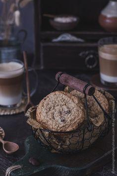 Cookies healthy sans gluten Biscuit Sans Gluten, Cookies Sans Gluten, Cookies Healthy, Patisserie Sans Gluten, Cookies Et Biscuits, Tea Time, Cereal, Muffin, Breakfast