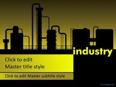 Those employed by various goods producing factories located across the United States may benefit from free Manufacturing Industry PPT Template (Mac and PC) Professional Ppt Templates, Powerpoint Template Free, Slide Design, Chemistry, Presentation, Industrial, Social Media, Itu, Projects