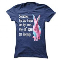 sometimes the best friends. bunny friends - #grafic tee #monogrammed sweatshirt. TRY => https://www.sunfrog.com/LifeStyle/sometimes-the-best-friends-bunny-friends-NavyBlue-Ladies.html?68278
