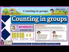 Tens And Units, Smart School, Mathematics, The Unit, Education, Personalized Items, Cards, Clever School, Math