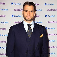 Good sport:Representing the Royal Marines Charitable Trust Fund, Henry was shortlisted for Celebrity Fundraiser of the Year but lost out on the title to footballer Francis Benali