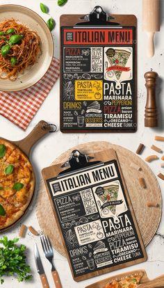 Italian Food Menu Template by BarcelonaShop on Creative Market Italian Food List, Italian Food Names, Italian Menu, Best Italian Recipes, Italian Foods, Italian Market, Italian Table, Italian Cooking, Food Menu Design