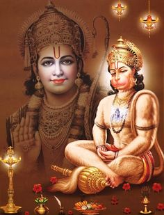 Hanuman and Lord Ram